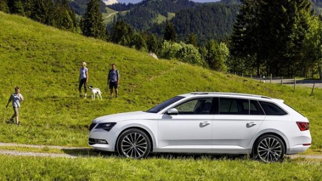 El Skoda Superb Combi es uno de los modelos de la marca subsidiaria del Grupo Volkswagen