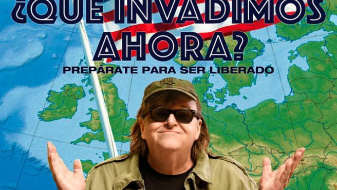 EXCLUSIVA: Póster de '¿Qué invadimos ahora?', lo último de Michael Moore