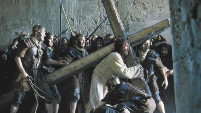 Una imagen de 'La pasión de Cristo', de Mel Gibson
