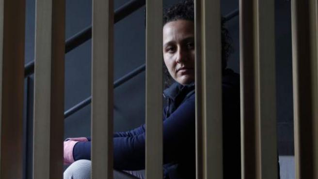 Susana Guerrero, en lucha por no entregar a su hija a su progenitor, un agresor condenado.