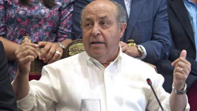 Fotografía de archivo (2015), del alcalde de Granada, José Torres Hurtado.