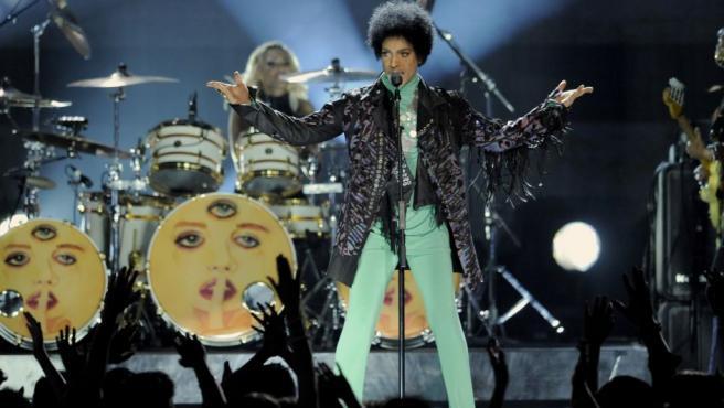 La estrella de Minneapolis, durante una actuación en los Billboard Music Awards 2013, en el MGM Grand Garden Arena de Las Vegas.