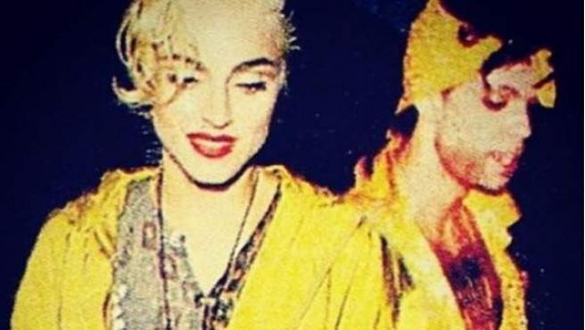 Imagen publicada por Madonna en su cuenta de Instagram para mostrar sus condolencias el día de la muerte de Prince.