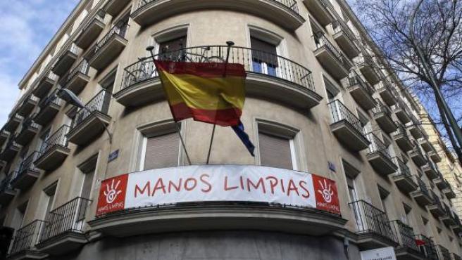 Sede del sindicato Manos Limpias.