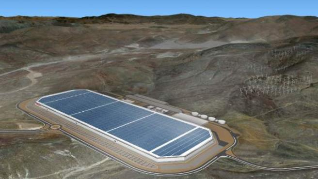 La compañía fundada por Elon Musk producirá sus baterías de iones de litio en la planta de Nevada.