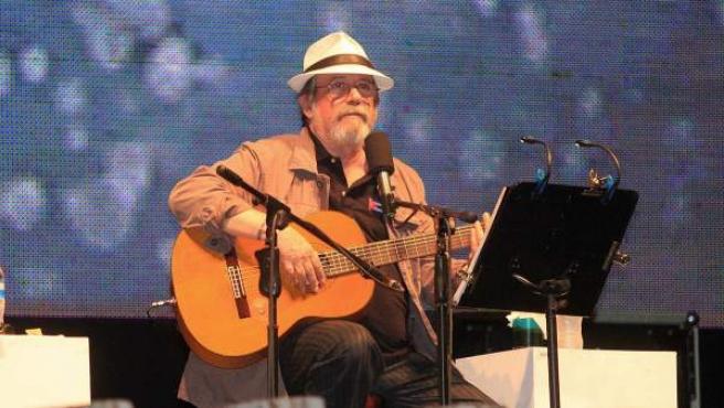El cantautor cubano Silvio Rodríguez, en una foto en 2013.