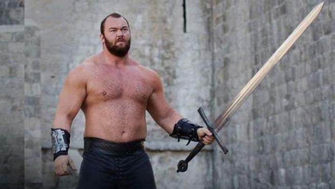 Hafthór Júlíus Björnsson, uno de los actores que interpretó el personaje de La Montaña en 'Juego de tronos'.