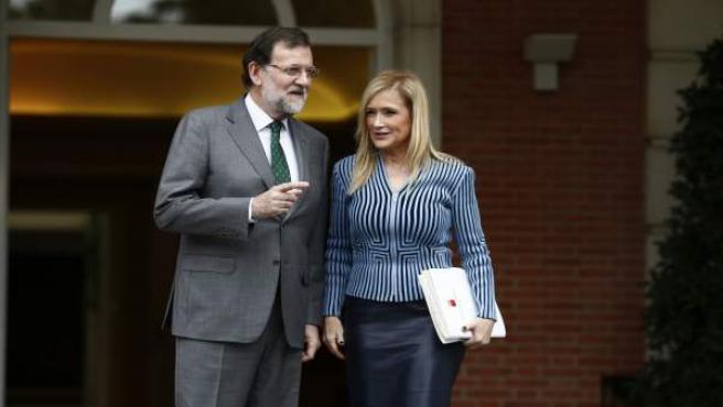 Rajoy recibe a Cristina Cifuentes