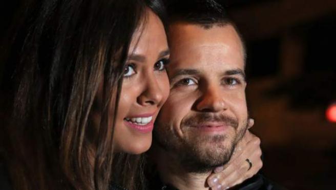 Cristina Pedroche y David Muñoz, juntos en Madrid en octubre de 2015.