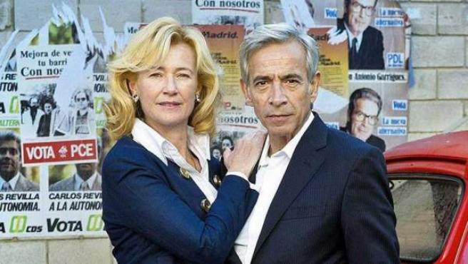 Los actores Ana Duato y Imanol Arias.