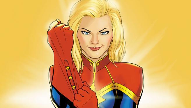 Capitán Marvel aparecerá en 'Vengadores: Infinity War'