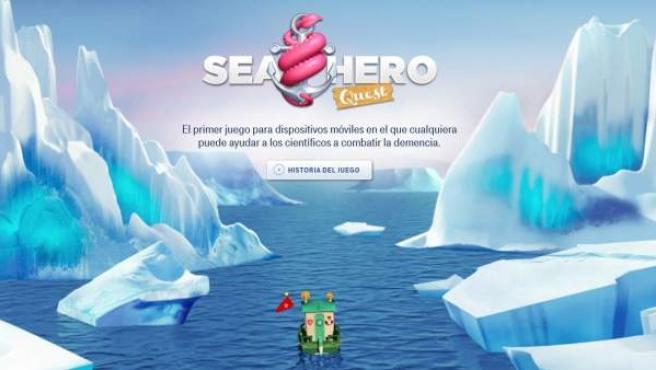 Sea Hero Quest es un juego gratuito para los dispositivos móviles que ayuda a los científicos a investigar sobre el Alzheimer