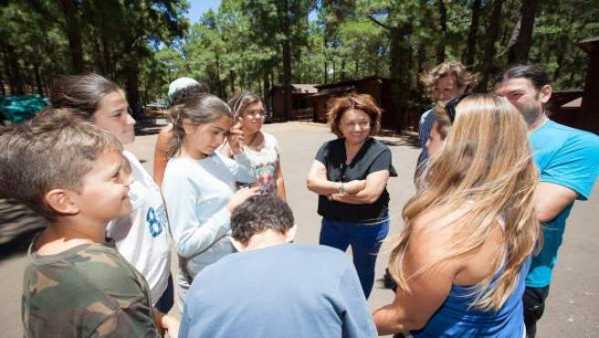 Visita Campamento de la Esperanza