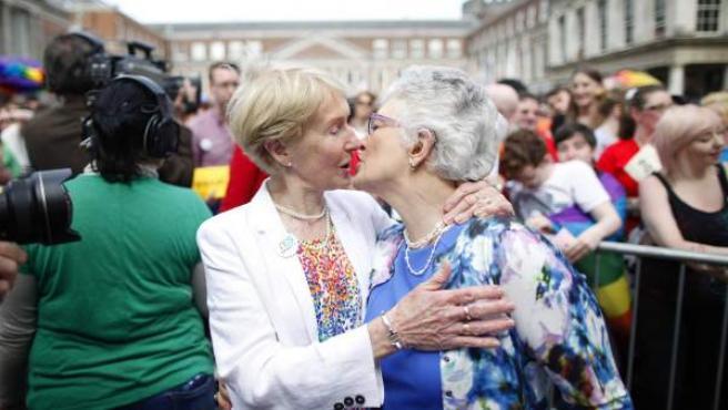 El pasado 23 de mayo, Irlanda se convirtió en el primer país del mundo en aprobar el matrimonio homosexual mediante referéndum.