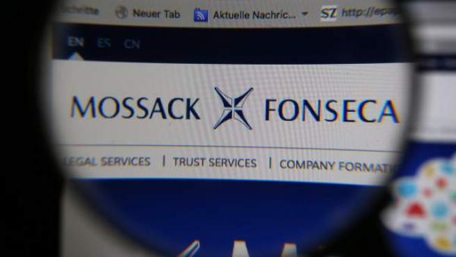 Logo del bufete de abogados panameño Mossack Fonseca, el origen de las filtraciones de los 'papeles de Panamá'.