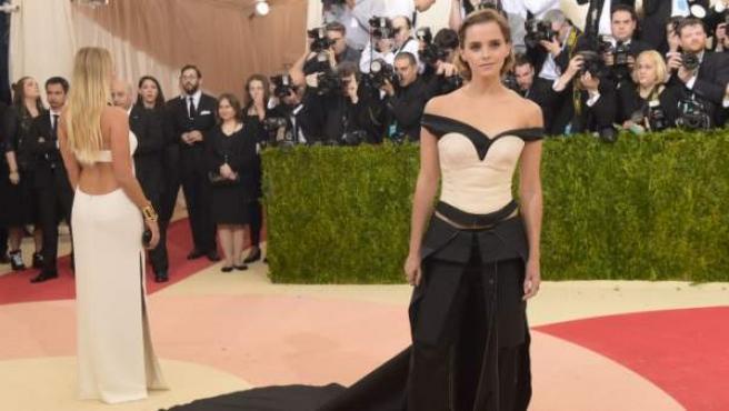 La actriz Emma Watson, en la Gala MET 2016.