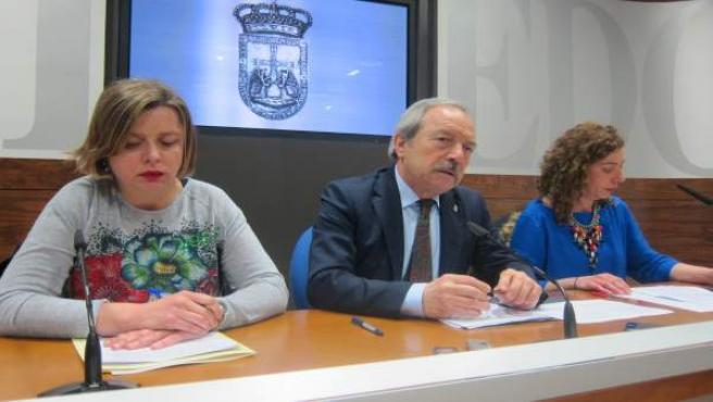 Ana Taboada, Wenceslao López y Cristina Pontón
