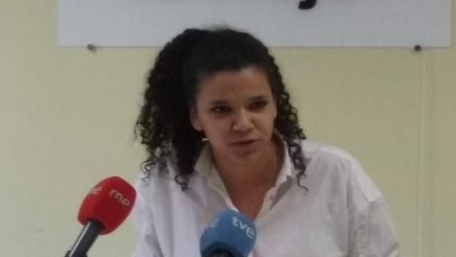 La concejala Ana Bruna