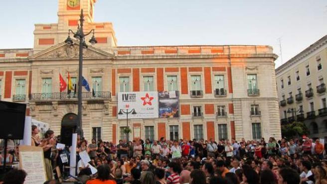 Manifestación del 15M en Madrid este fin de semana.