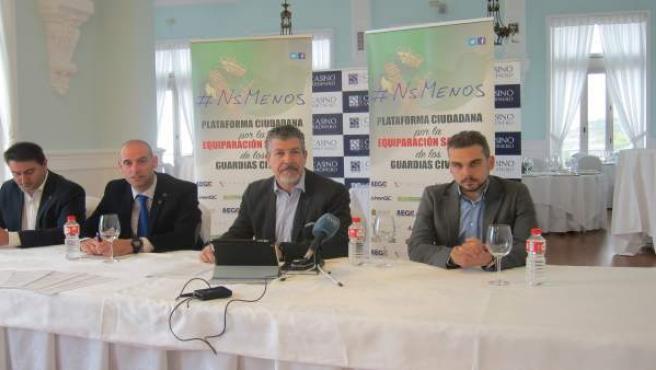 Presentación de la plataforma #NsMenos en Cantabria