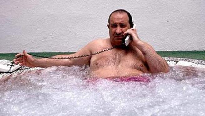 El fallecido exalcalde de Marbella y expresidente del Atlético de Madrid, Jesús Gil.