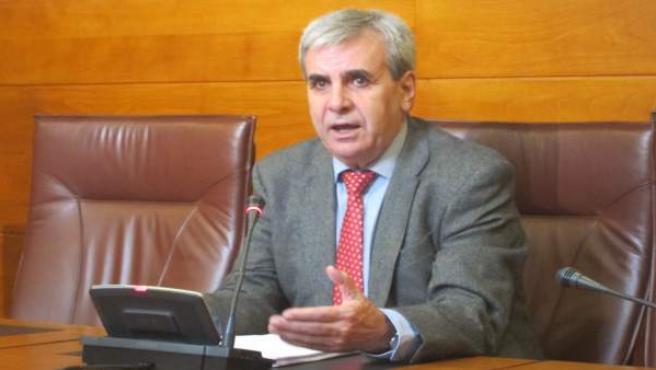 El portavoz del PRC en el Parlamento regional, Rafael de la Sierra