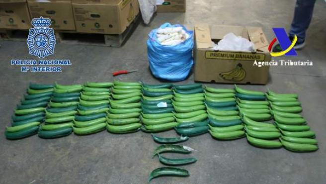 Bananas sintéticas con cocaína