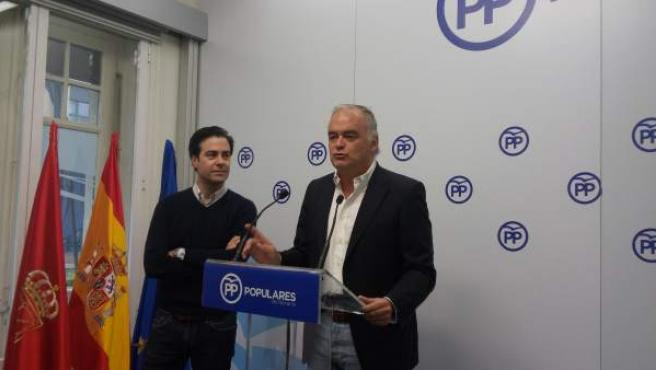 Esteban González Pons y Pablo Zalba