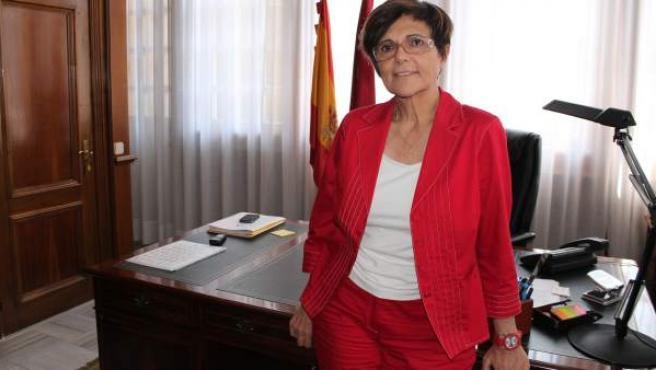 Rosa Peñalver, presidenta de la Asamblea Regional de Murcia.