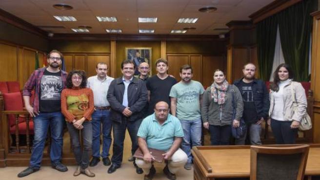 Reunión de la Diputación de Almería con cortometrajistas