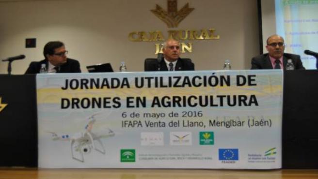 Jornada de utilización de drones en agricultura