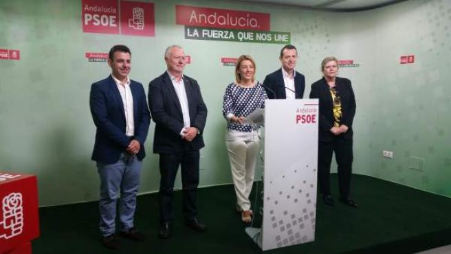 Rueda de prensa del PSOE de Almería