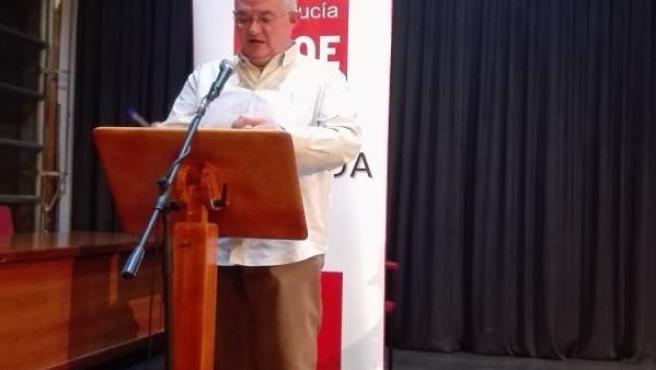 El secretario general del PSOE de Granada capital, José María Rueda