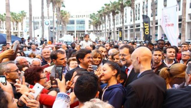 Visita de Mariano Rajoy a El Ejido (Almería)