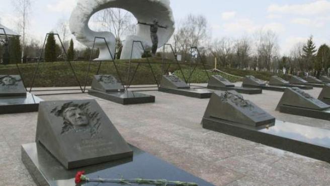 Un cementerio moscovita en una imagen de archivo.
