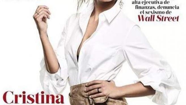 La presentadora Cristina Pedroche, en la portada de 'Mujer Hoy'.