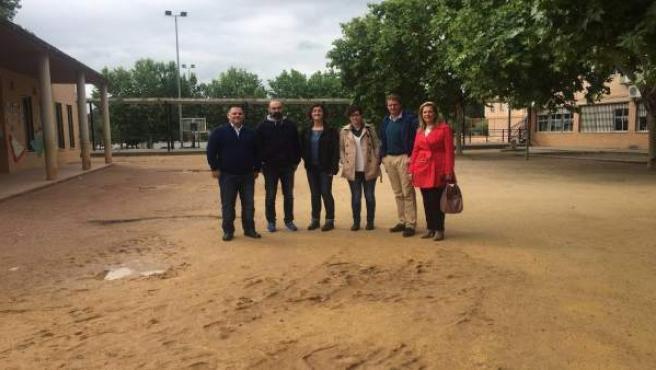 El PP pide mejoras en el colegio Europa de Córdoba