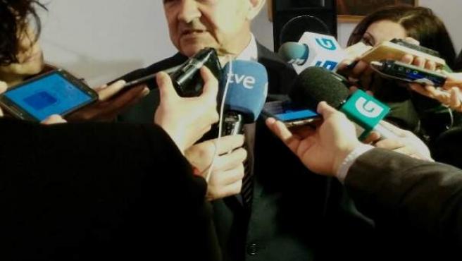 El candidato a las primarias del PSdeG José Luis Méndez Romeu