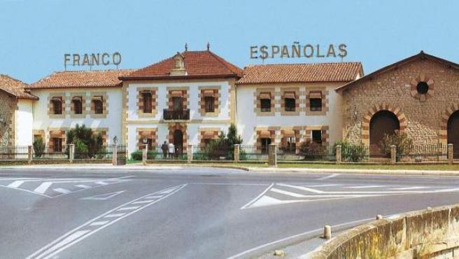 Fachada de Bodegas Franco Españolas