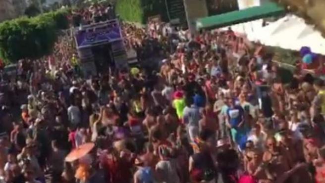 Desfile del orgullo gay en Maspalomas.