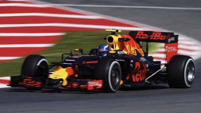 El piloto neerlandés de Red Bull Max Verstappen, en el GP de España.