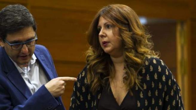 Eva Borox, ex diputada de Ciudadanos en la Asamblea de Madrid.