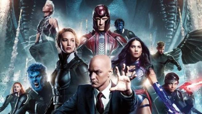 Cartel con los personajes de 'X-Men: Apocalipsis'.