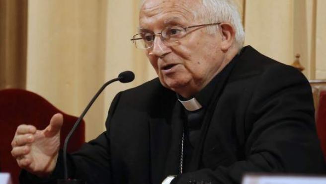 El cardenal Cañizares en una imagen de archivo