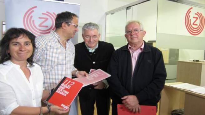 ZEC ha recibido este jueves las propuestas del PSOE