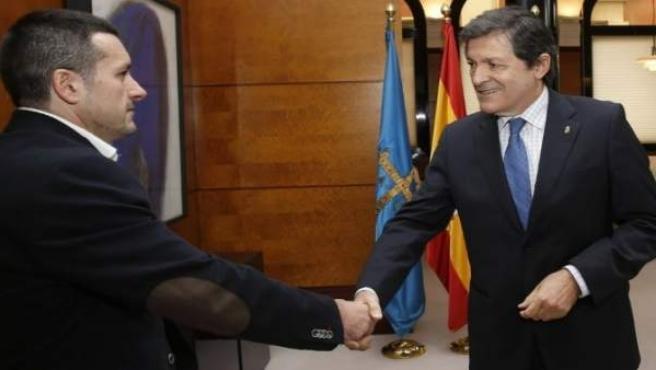 Javier Fernández Lanero y Javier Fernández