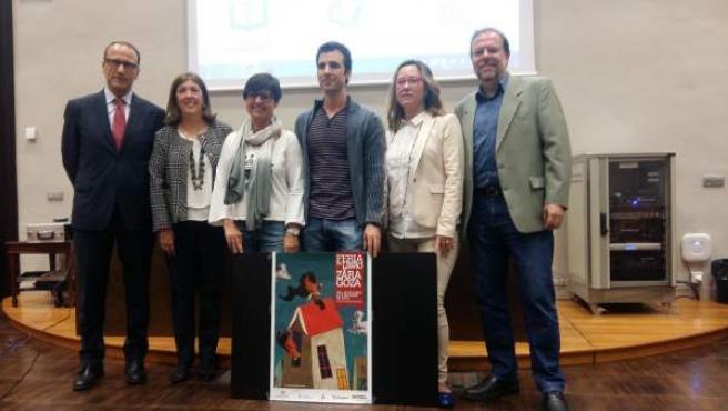 Presentación de la Feria del Libro de Zaragoza