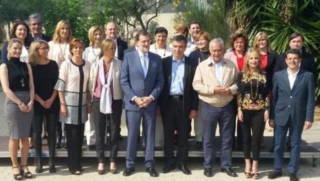 Rajoy y Cospedal, en una imagen de archivo.