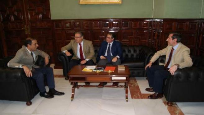 Reunión entre Juan Ignacio Zoido y Miguel Ángel Castro