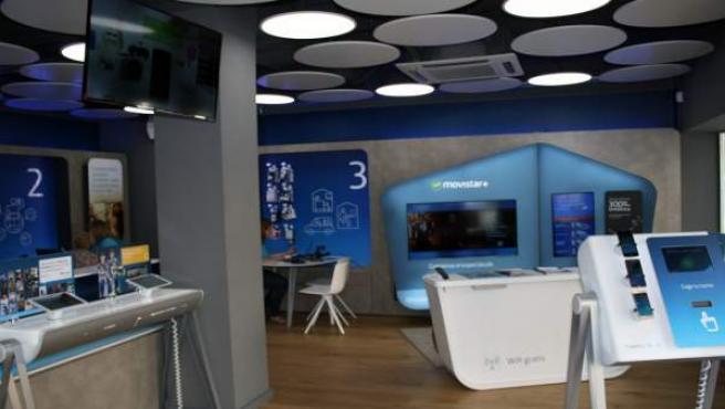 Uno de los nuevos espacios Movistar en Córdoba